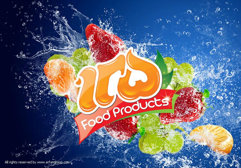 لوگو محصولات غذایی 125