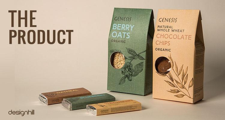 طراحی منحصربفرد بسته موادغذایی