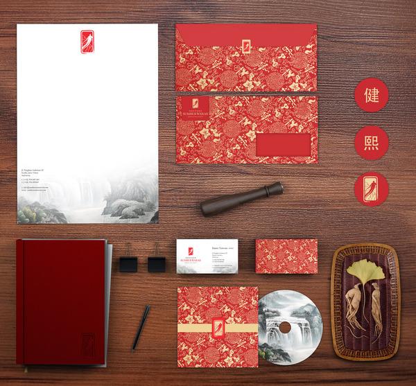 طراحی جالب ست اداری چینی