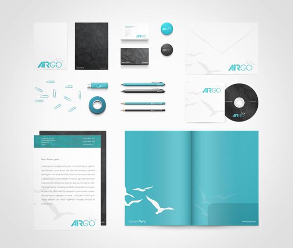 طراحی ست اداری airgo