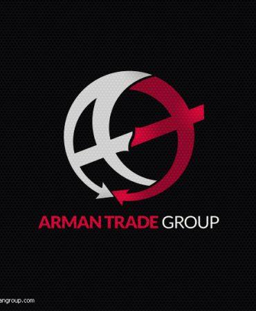 طراحی لوگو شرکت آرمان تجارت