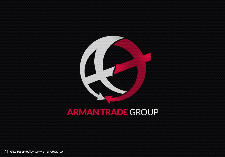 طراحی لوگو آرمان تجارت