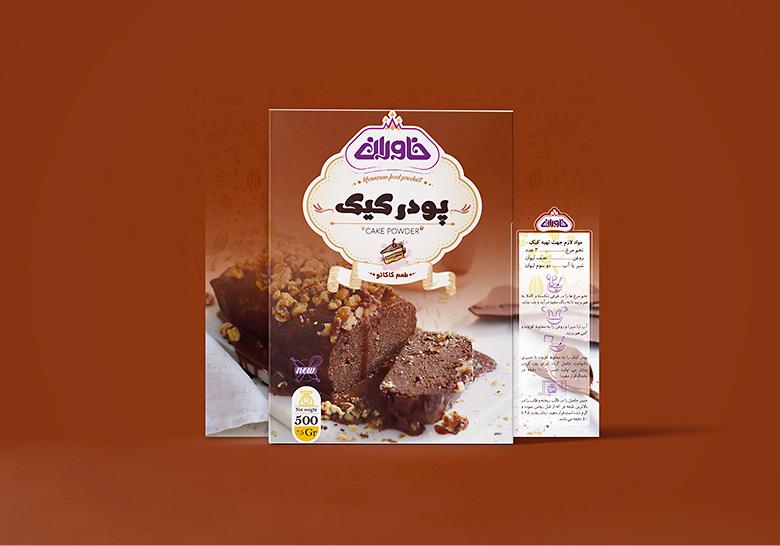 پودر کیک خاوران
