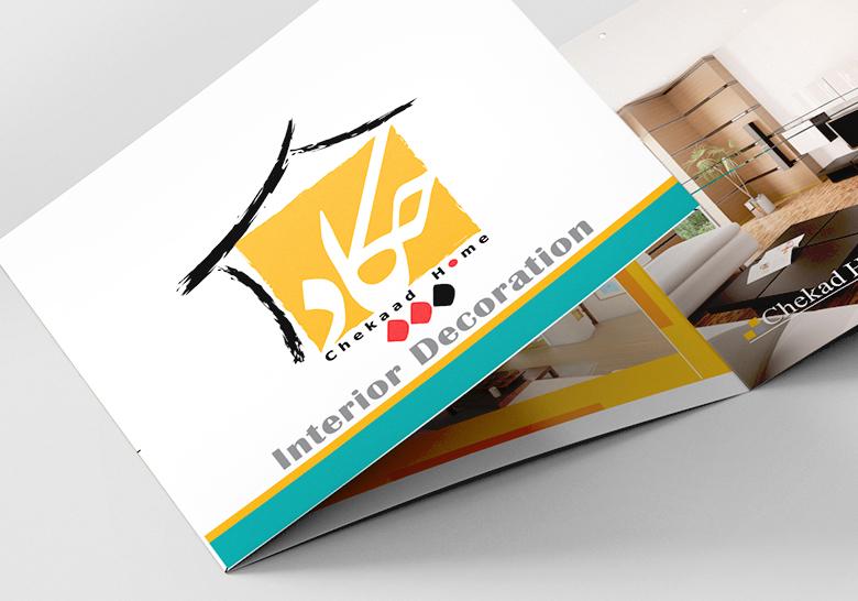 طراحی بروشور خانه چکاد