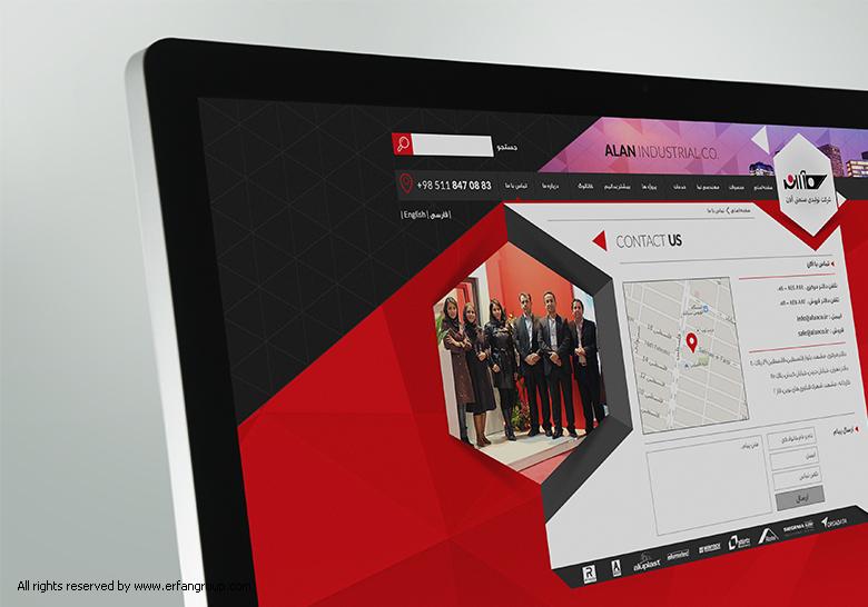 طراحی خلاقانه وبسایت