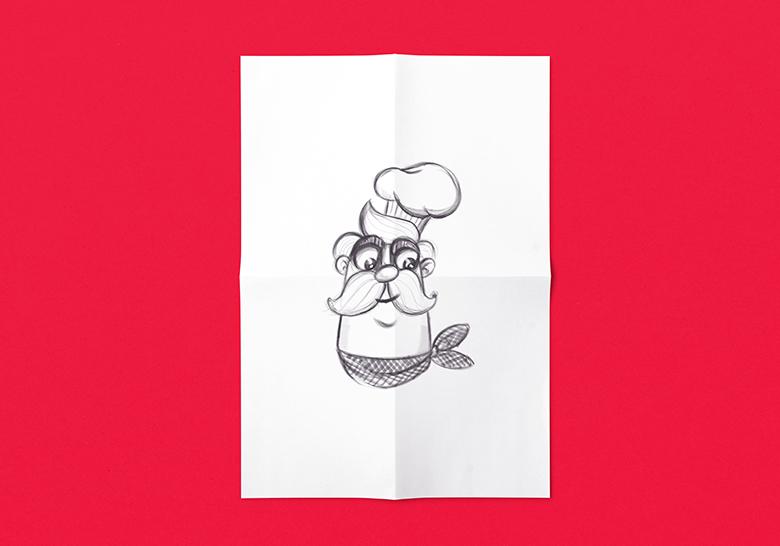 طراحی کاراکتر- محصولات غذایی هلچین