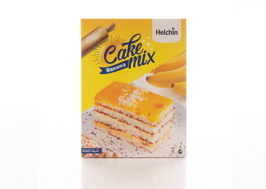 طراحی بسته بندی پودر کیک