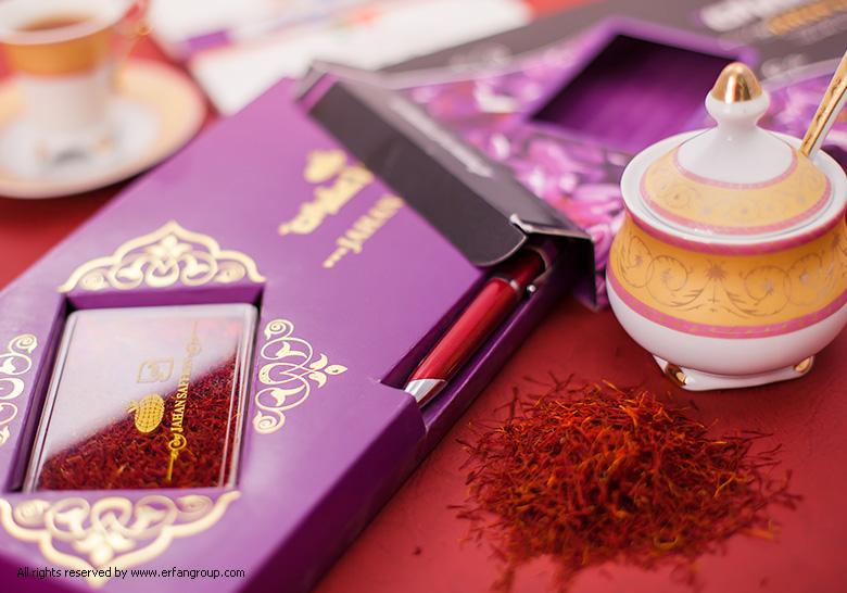 طراحی بسته بندی زعفران