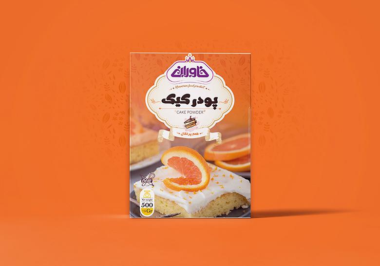 بسته بندی پودر کیک خاوران