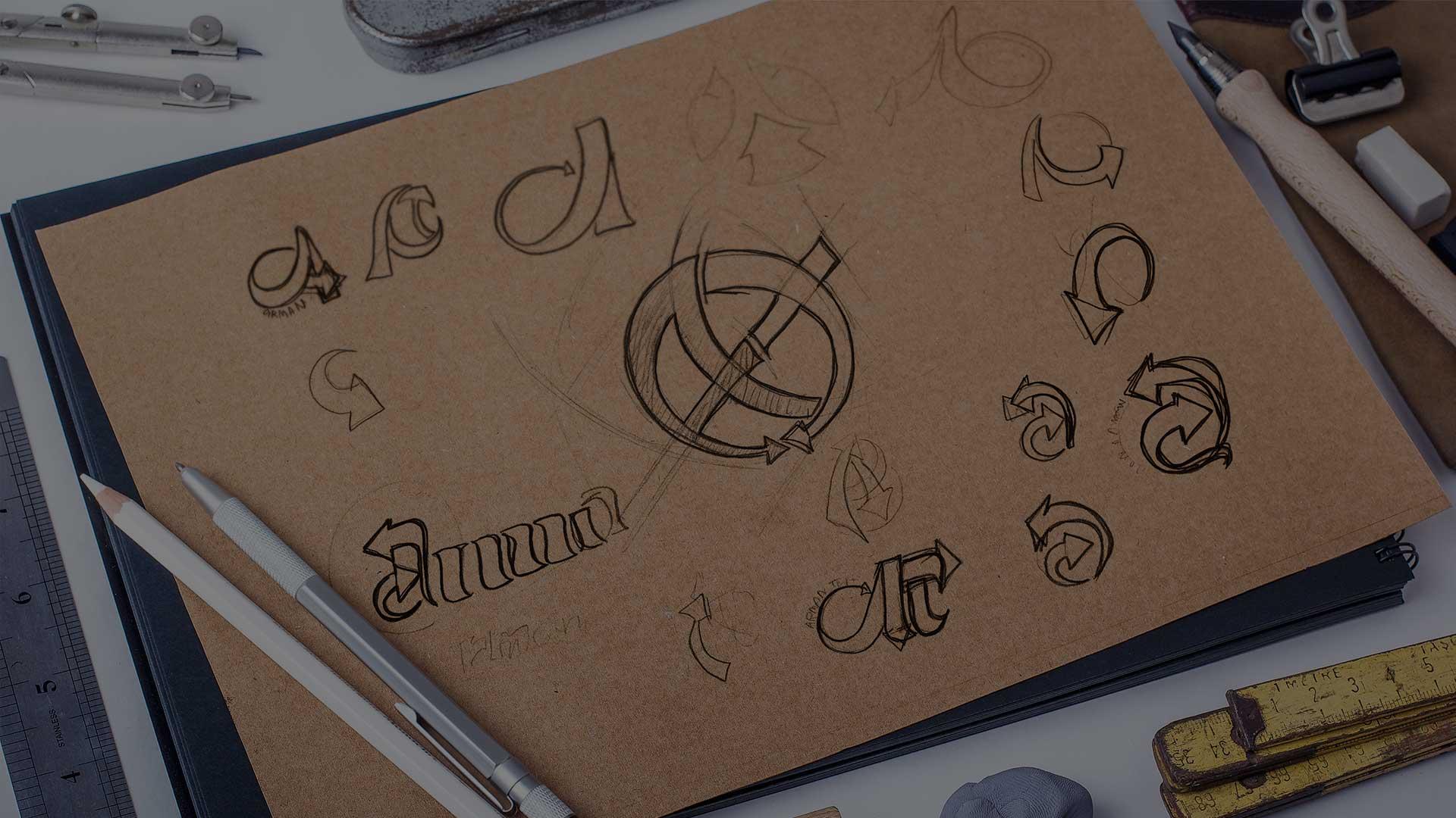 نمونه طرح های لوگو