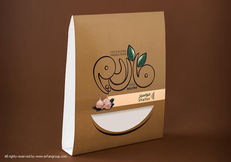 طراحی بسته بندی ماریم