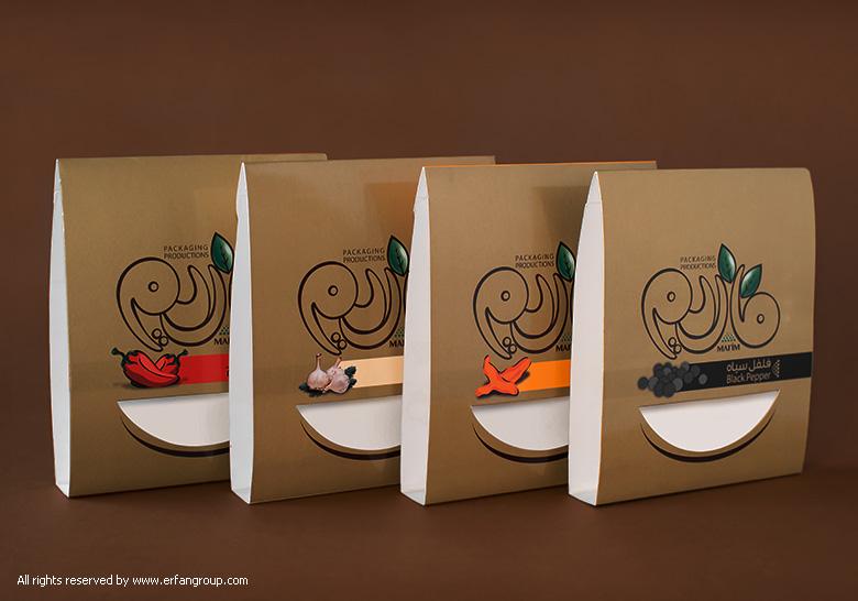 طراحی بسته بندی توسط گروه عرفان
