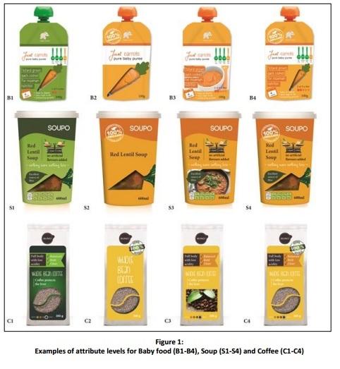 نمونه طراحی بسته بندی غذای کودک
