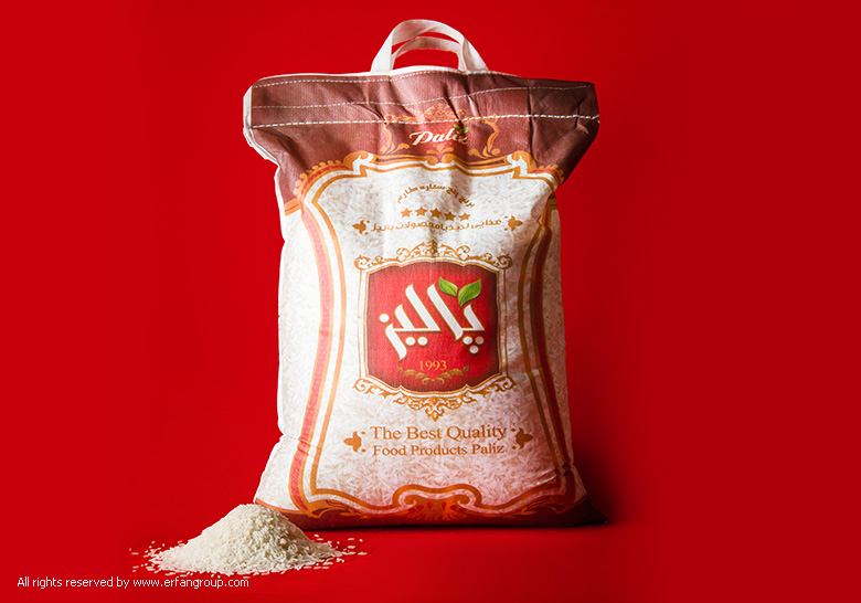 بسته بندی برنج پالیز