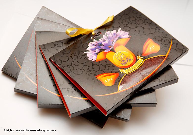 طراحی بسته های زعفران