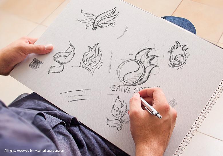 طرح اولیه لوگو سایوا گستر