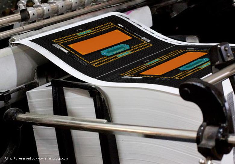 طراحی بسته بندی نبات جهان زعفران
