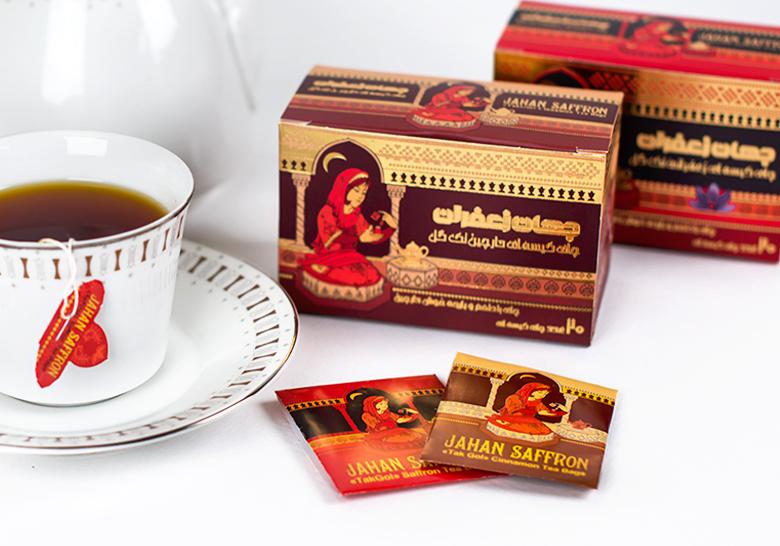 طراحی بسته چای