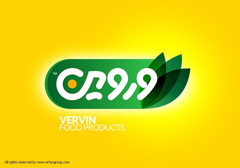 طراحی لوگو صنایع غذایی وروین