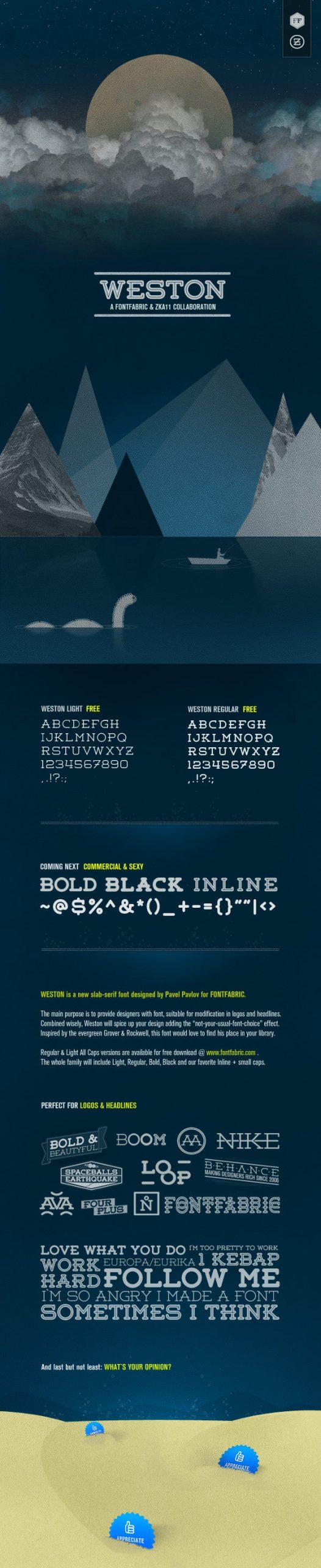 نمونه طراحی تایپوگرافی
