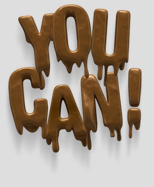 تایپوگرافی- you can