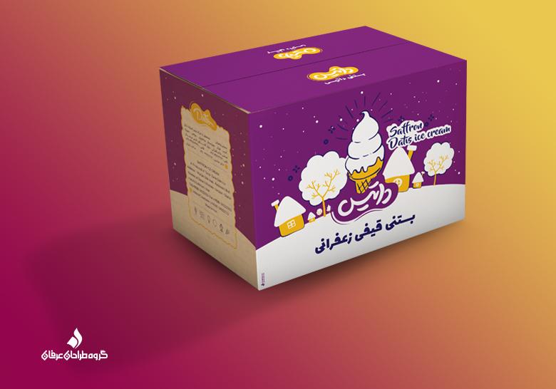 بستنی زعفرانی- داتیس