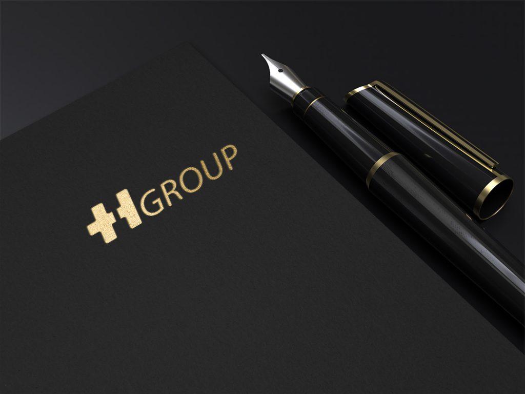 طراحی لوگو th group