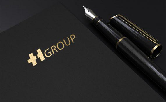 طراحی لوگو شرکت صنعتی TH group