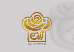 طراحی لوگو صنایع غذایی رزت