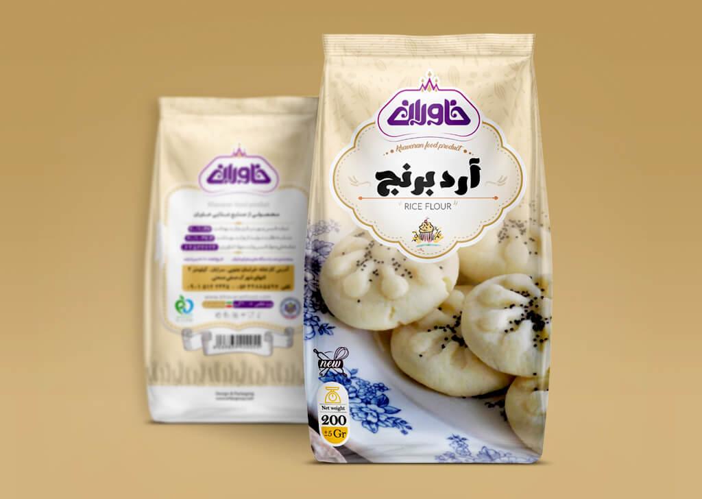 آرد برنج خاوران
