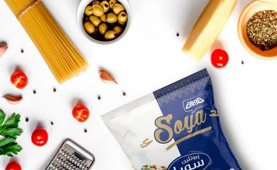طراحی بسته بندی سویا خاوران