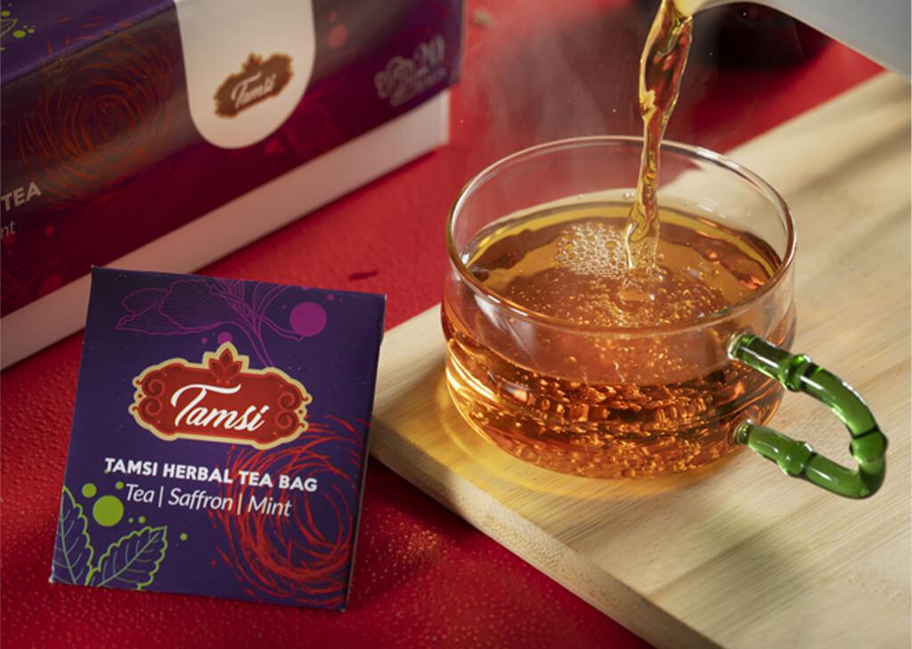 طراحی بسته بندی چای تامسی