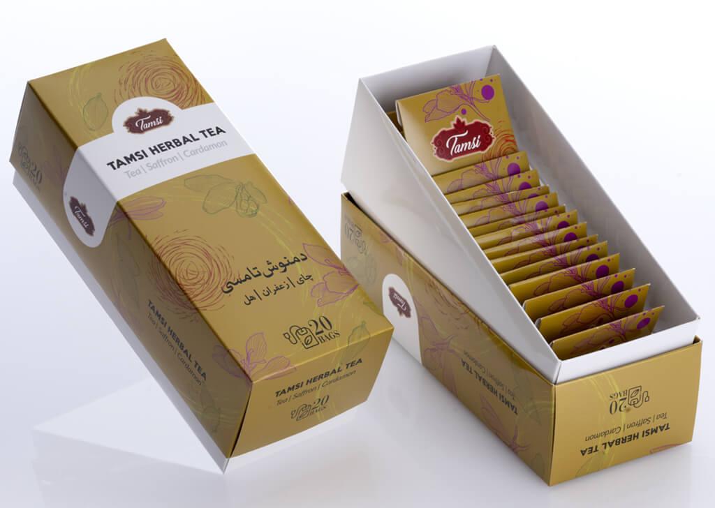 جعبه مادر چای کیسه ای تامسی
