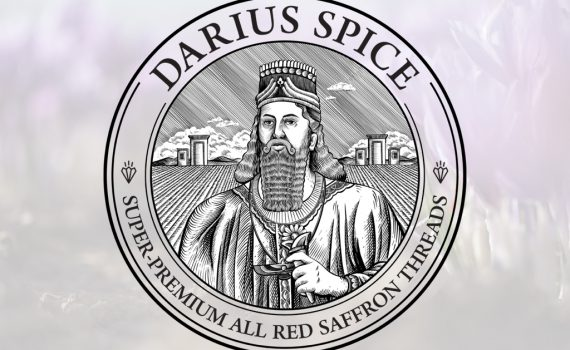 طراحی لوگو زعفران داریوش