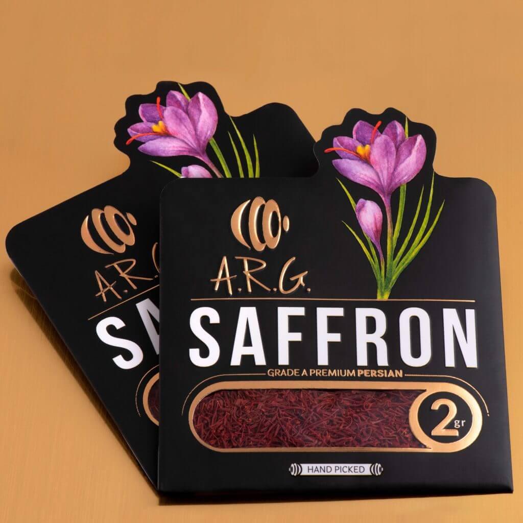 بسته بندی پاکتی زعفران ARG