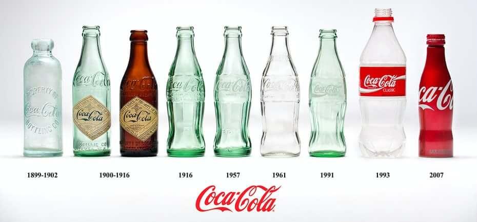 طراحی بطری های کوکاکولا