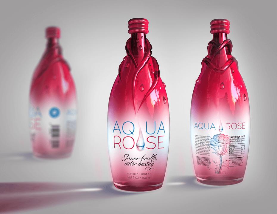 بطری الهام گرفته از طبیعت