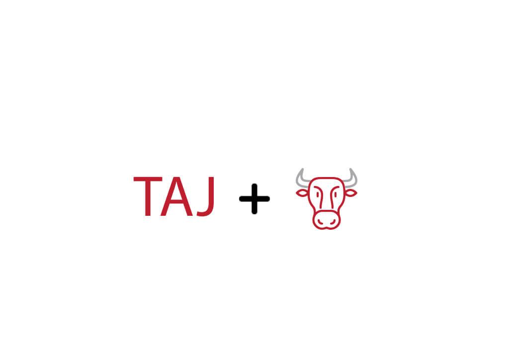 طراحی لوگو تلفیقی برند گوشت صادراتی