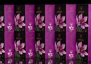 طراحی جدید بسته بندی زعفران
