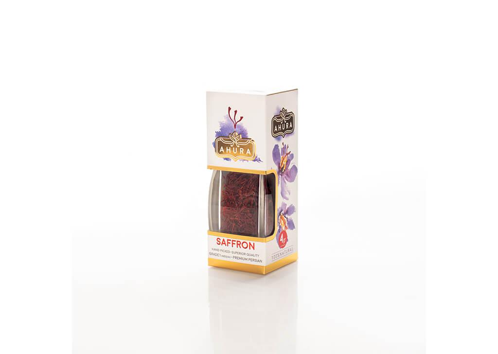 بسته بندی زعفران